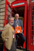 Redundant Phone Box Houses Life Saving Defibrillator