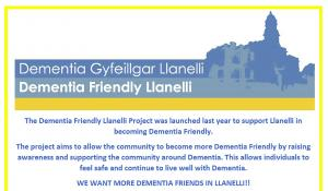 Llanelli Rotary working with Dementia Friends