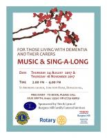Events for People Living with Dementia
