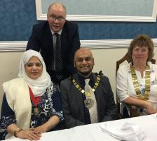 Visit from Deputy Mayor and Deputy Mayoress of Croydon