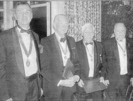 Sixty years of Rotary in Abergavenny in 2005