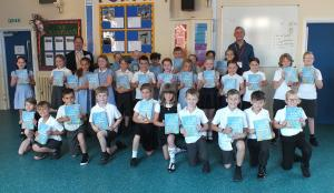 Dictionaries to Bungay Primary year 4 pupils