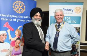 Dalawer Singh on Scottish Association of Local Sports Clubs