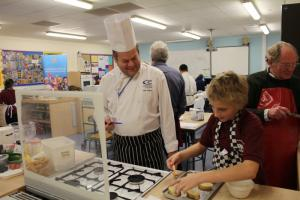 Young Chef 2014-15: District Final at R Lander School