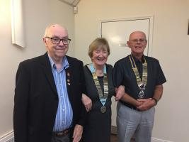 Official District Governor visit