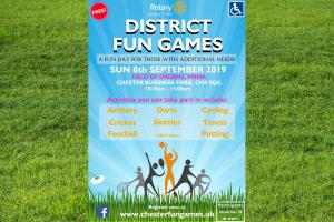 District 1180 Fun Disabled Games 2019