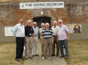 Visit to the Diving Museum, Gosport
