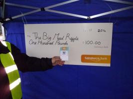 Magpas Meal Raffle Ticket Sale - Sainsburys