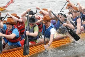 The annual Dragon Boat Festival - In 2016 on 12th June