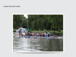 Dragon Boat Racing at Wicksteed Park