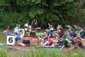 Rotary Clubs of Northampton Dragon Boat Event