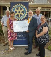 Rotary supports Taunton's Drug Busting Bus