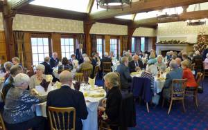 18 December 2013 - members and wives enjoy an excellent Christmas lunch