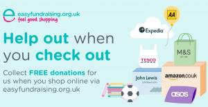 Raise funds for us through Easyfundraising at no extra cost to you!