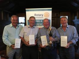 Golfers club together to fight Motor Neurone Disease!