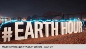 Earth Hour 2020 - Newbury