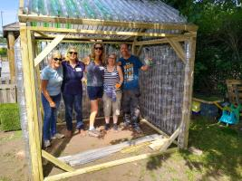 The Business Partnership building an ECO Greenhouse