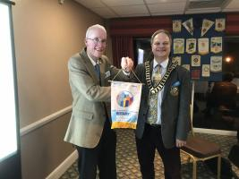 A Visit From David Pope The District Governor 1090