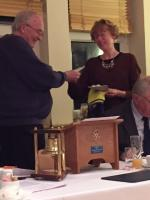 Elizabeth Hardy Inducted into the club
