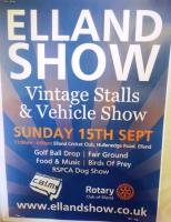 Elland Show at Elland Cricket Club, Hullenedge Road, Elland