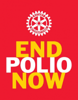 END POLIO NOW - AT HOPELANDS SCHOOL, STONEHOUSE