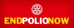 Mar 2015 Rotary Flame for Polio arrives - Parkers Pieces