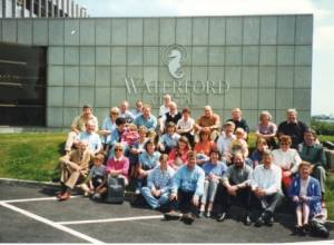 Visit to the Rotary Club of Enniscorthy in Ireland in 1997