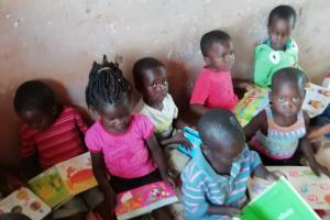 Epsom Rotary Gifts books to School in Malawi