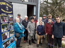 Visit to Erme Valley Riding for the Disabled Ltd