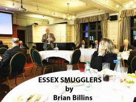 22nd March Speaker Meeting Mr Brian Billins (part 2) Essex Smugglers
