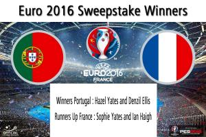Club EURO 2016 Sweepstake - Be In It To Win It