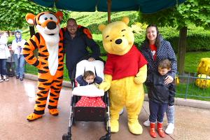 Rotary Club of Medway's trips to Eurodisney