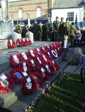 Remembrance Day Parade. Sunday 13th November 2011