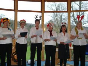 Members of the Evergreen Rotary Choir