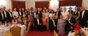 The Club plus Guests at Handover Night