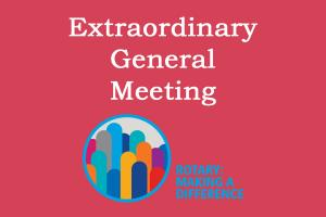 Lunchtime Meeting - 12.45pm - Extraordinary General & Business Meeting