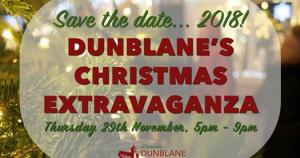Dunblane Street Traders Christmas Extravaganza (Outside Visit; Meal at 7.00pm at Westlands)