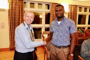 New Rotary Member Inducted