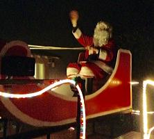 Father Christmas Visits the Lune Valley