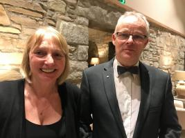The Rotary Club of Kircudbright 70th anniversary charter dinner