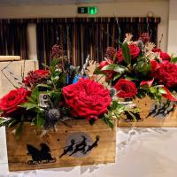 FLOWER DEMONSTRATION AND AFTERNOON TEA