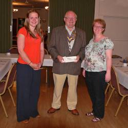 Donation to the Fenland Music Centre Association