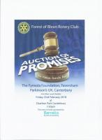Auction of Promises - Canterbury Forest of Blean Rotary Club
