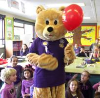 Falkland Primary School - Purple Clothes Day