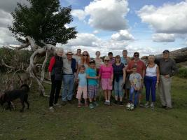 Family Picnic/Walk in New Forest