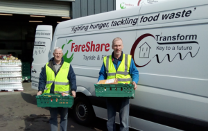 Rotarians on the road for FareShare
