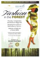 OUR CHARITY FASHION SHOW AT BROCKENHURST VILLAGE HALL.