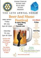 Beer & Music Festival  - Friday 6th & Saturday 7th July 2018