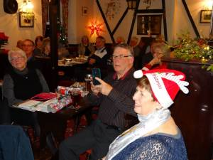 President Tina's Christmas Party at The Yew Tree