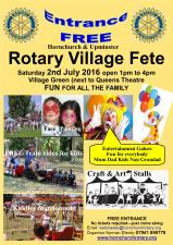 Rotary Garden Village Fete - green - Queen's Theatre Hornchurch